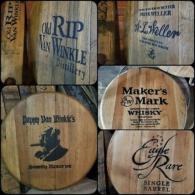 W.l. Weller / Old Rip Pappy Van Winkle / Makers Mark / Eagle Rare / Ky Bourbon