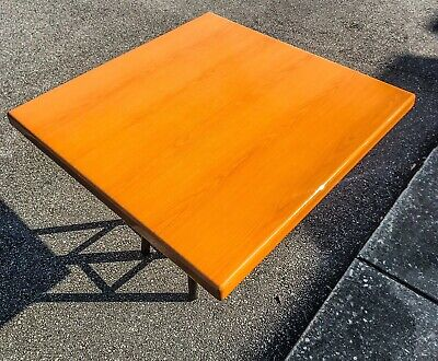 30x30 Commercial grade wood restaurant table tops with epoxy finish