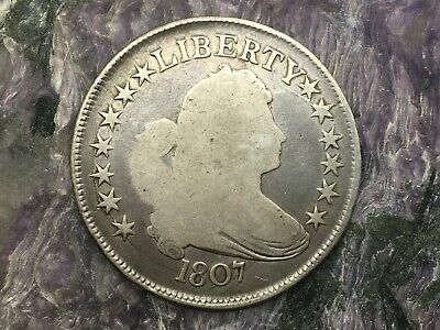 1807 Draped Bust Heraldic Eagle Circulated