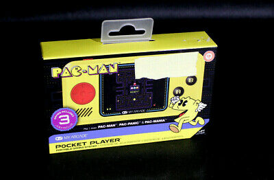 My Arcade Pac-Man Pocket Player! NEW in Sealed Box!!!