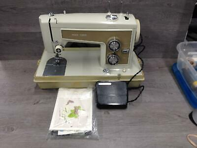 Sears Kenmore Model 1320 Zig Zag Sewing Machine W/ Case & Manual Parts Repair
