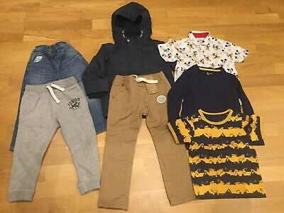 Boys Clothes Bundle Age 2-3 Next Joggers Jeans Jacket Shirt Tshirt Coat Top