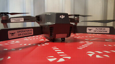 Drone Operator ID Stickers, Flyer , Battery, If Lost Labels, Identification, CAA