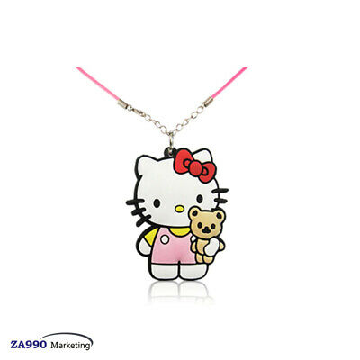 Hello Kitty Necklace Pendant Fashion Jewelry Accessories Kids Boy Girl