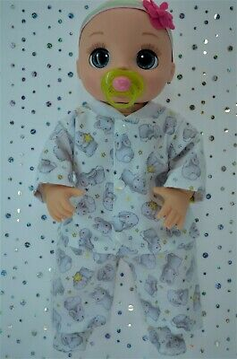 """Dolls Clothes For 17"""" Baby Alive Real As Can Be FLANNELETTE PANTS~TOP~BOOTIES"""