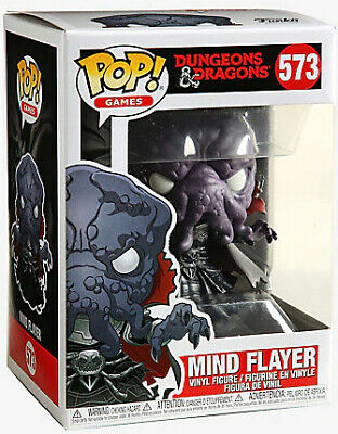Pop Games 3.75 Inch Action Figure Dungeons & Dragons - Mind Flayer #573