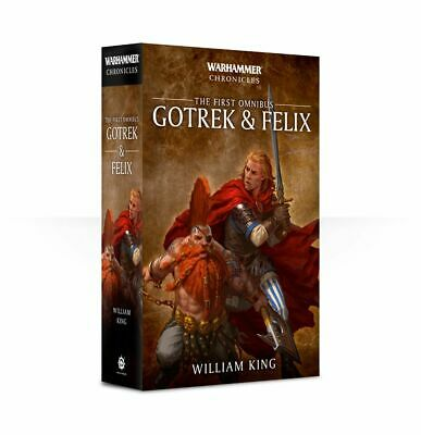 Black Library Gotrek and Felix: The First Omnibus (Paperback) NEW Warhammer Book