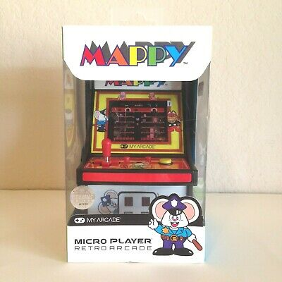 New & Free Shipping! Micro Player Retro My Arcade Mappy