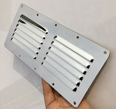 Stainless Steel Air Vent Louver Exhaust for Boat Marine Grille Cover Ventilation
