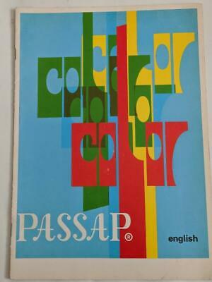 Passap Color -4 Color Changer Manual 1972 -To use with Duomatic Knitting Machine