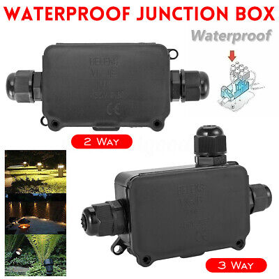 2/3 Way Outdoor Waterproof IP66 Underground Cable Line Connectors Junction Box