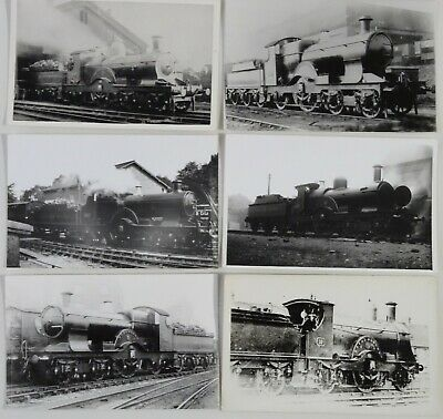 6 GWR Tank Engine Photos - Great Western Railway - Lot 188