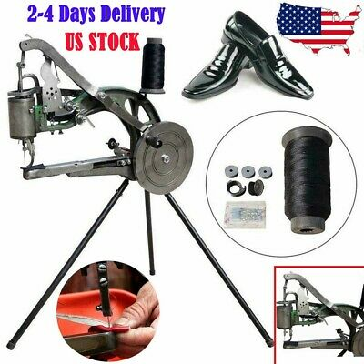Hand Cobbler Shoe Repair Sewing Machine Making Dual Cotton Nylon Thread Leather_