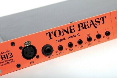 Warm Audio TB12 Tone Beast Microphone Preamp ( Great condition, works perfect)
