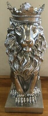 latex mould for making this Stunning crowned Lion Statue