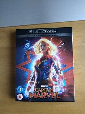 Captain Marvel 4K UHD + Blu-ray