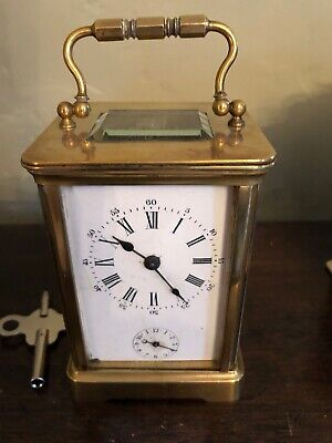 Antique Carriage Clock with alarm