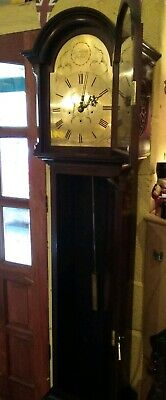 Grandmother clock with Westminster chimes, silent option, eight day,
