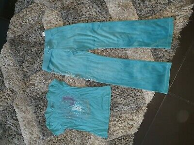 Girls juicy couture tracksuit bottoms/t shirt