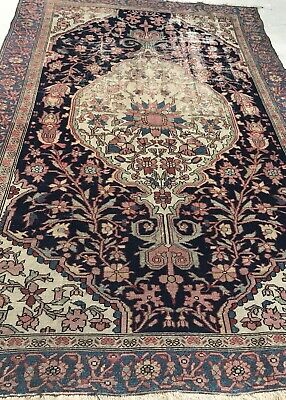 An Authentic Antique Mishan Malayer Hand Made Rug
