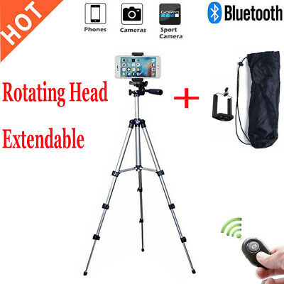 Portable Universal Adjustable Tripod+Clip+Wireless Bluetooth Remoter For Camera