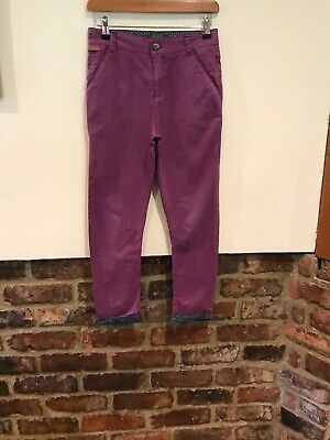 Ted Baker boys purple trousers age 11yrs Good condition