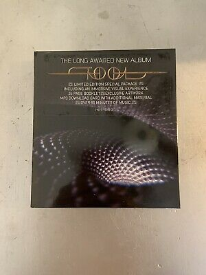 NEW Tool Fear Inoculum Limited Edition CD + MP3 Code Video Screen Case
