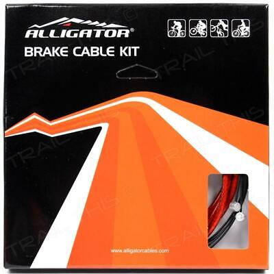 Alligator Bicycle Reliable Brake Housing /& Cable Set //// 5mm //// Black