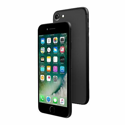 Apple iPhone 7 32GB Factory GSM Unlocked AT&T T-Mobile Smartphone - Black