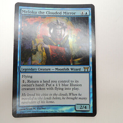 Meloku the Clouded Mirror Light Play MTG Champions Magic 2B3
