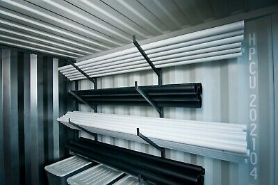 Cargo Container / Shipping Container Large Steel Hanging Pipe Rack - Bracket