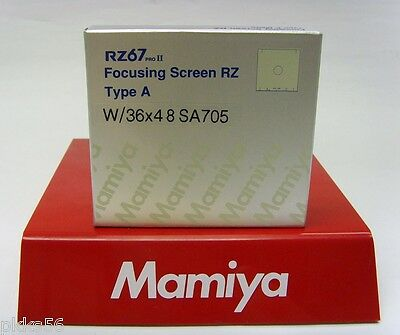 Mamiya RZ PRO IID A / MATTE FOCUSING SCREEN 36 x 48 for DIGITAL BACKS! (or 6x6)