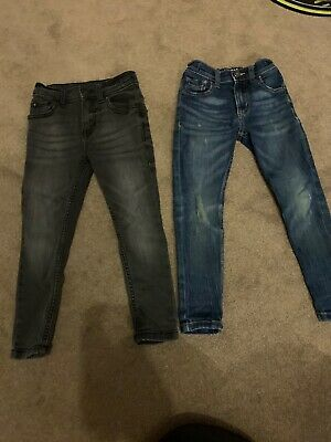 Boys jeans 5 years bundle, Mid Blue And Dark Grey