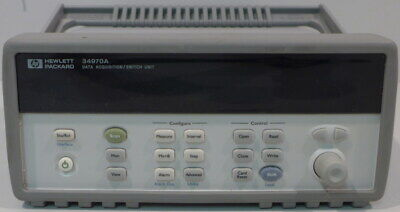 HP/Agilent 34970A Data Acquisition/Switch Unit Tested and Working