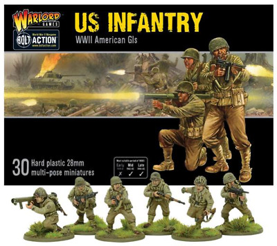 Warlord Games Bolt Action United States US Infantry WWII American GIs