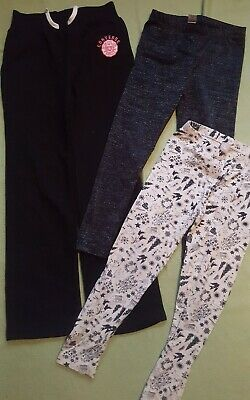 Girls Clothes Bundle Converse Joggers & 2x Leggings Age 6 years