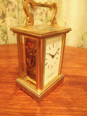 Thomas Braithwaite  London, brass Antique carriage clock