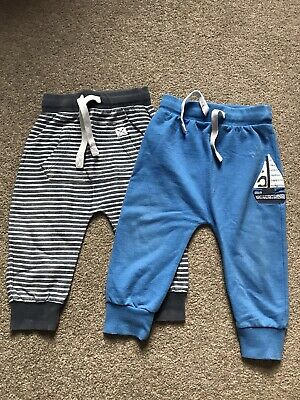 Next Boys Boat / Nautical Joggers Aged 12-18 Months