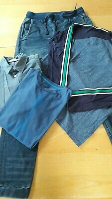 Bundle Outfit H&M Jeans Denim and Shirt and two Mini Boden T-Shirts 11-12 years