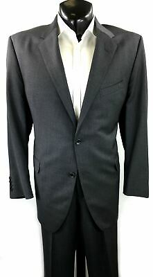 Coppley Gray 100% Wool 2 Piece Suit | US 48R