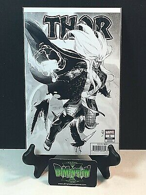 Thor #1 Nm Nic Klein B&W Party Sketch Variant One Per Store Marvel Comics 2020