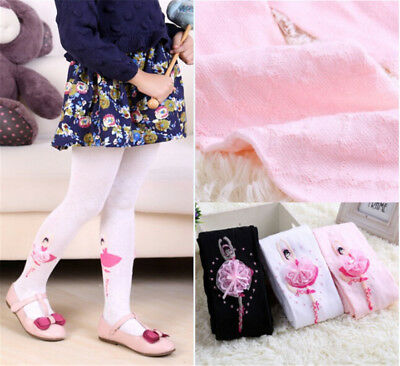 Baby Toddler Infant Kids Girl Cotton Warm Pantyhose Socks Stockings Tights AT3C