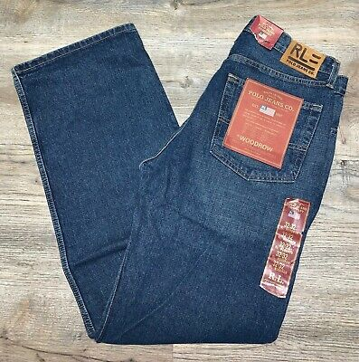 NWT ~ Ralph Lauren Polo Jeans *Woodrow* denim pants ~ mens 32 x 32
