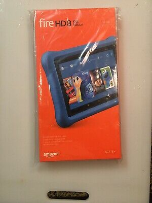 Amazon Fire HD 8 Kids Edition 7th Generation 8-in 32GB WiFi Tablet Fire OS Blue