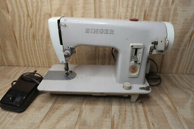 Vintage Singer Sewing Machine with Power Cord & Petal 293B Parts Only