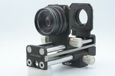 MINOLTA MACRO FOCUS RAIL FOR AUTO BELLOWS I AND III w/100mm F4 for MD   16215