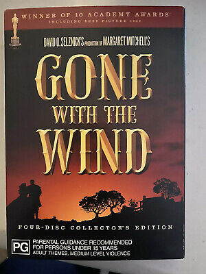Gone With The Wind - 4 disc Collector's Edition