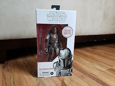 "Hasbro Star Wars Black Series First EditionThe Mandalorian 6"" Action Figure"