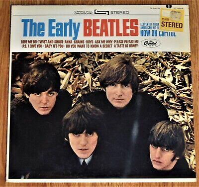 The Beatles THE EARLY BEATLES original 1965 FACTORY SEALED first pressing