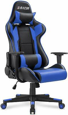 POWER Chair Gaming Rocker Racing Video Seat X Ergonomic Gamer New Leather Style